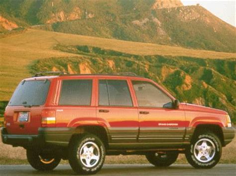 blue book used cars values 1999 jeep grand cherokee parking system 1998 jeep grand cherokee pricing ratings reviews