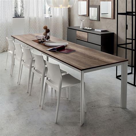 tavolo moderno cucina mario tavolo allungabile per cucina o soggiorno