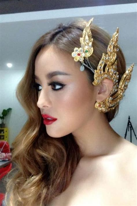 hair cuts and earring tips pearypie with traditional thai ear cuff hairpiece hair