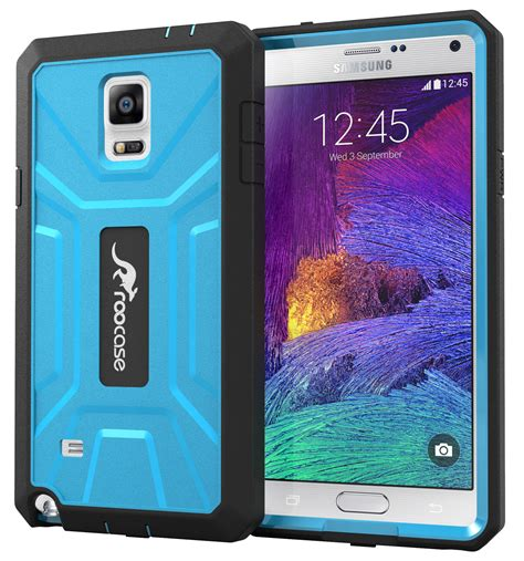 Samsung Galaxy Note 4 Sarung Armor Tpu Cover Casing roocase pc tpu armor tough cover for galaxy note 4