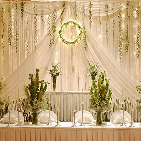 drapes and lights for weddings 3x3m 300 led warm white led light curtain string fairy