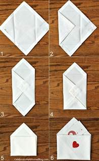 envelopes at home diy s day napkin envelopes celebrations at home