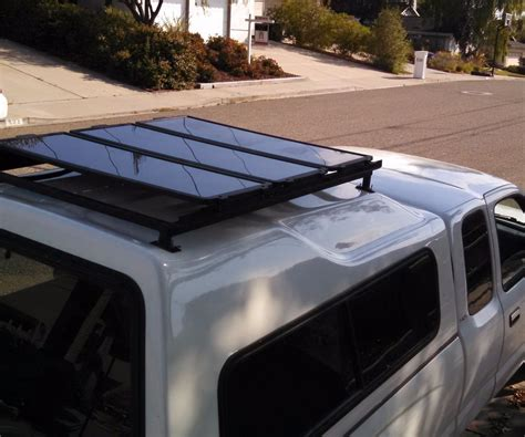 Diy Roof Rack by Installing A Diy Roof Rack For Solar Panels