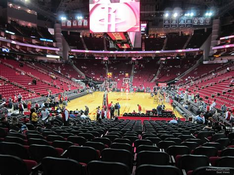 toyota center sections toyota center section 126 houston rockets