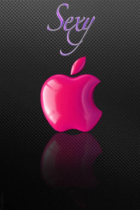 wallpaper apple pink sexy pink apple logo wallpaper free iphone wallpapers