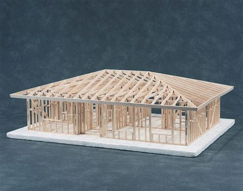 hip roof house plans to build hip roof house framing kit cat 83 541001c 169 00