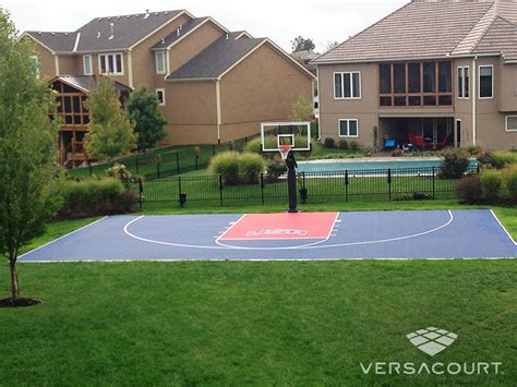 how to build a backyard basketball court basketball court in backyard rinkside org