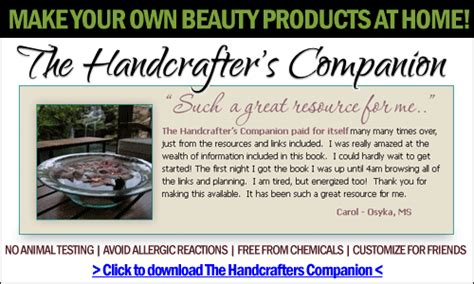Handcrafters Companion - other bath product tips and tricks soap