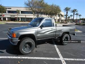 1988 Toyota 4x4 1988 Toyota Tacoma 4x4