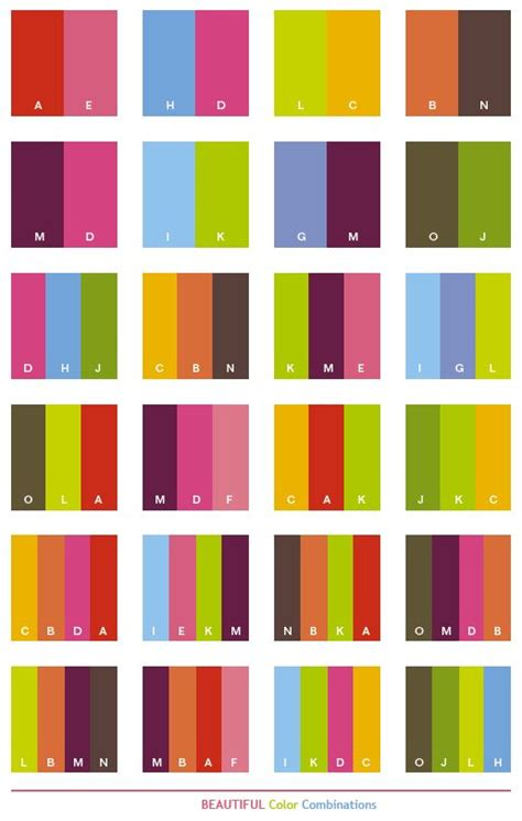 great color combinations beautiful color schemes color combinations color palettes for print