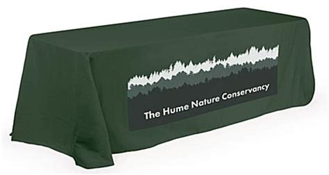 exhibit table covers with logo tablecloth with logo will turn exhibition booth to eye