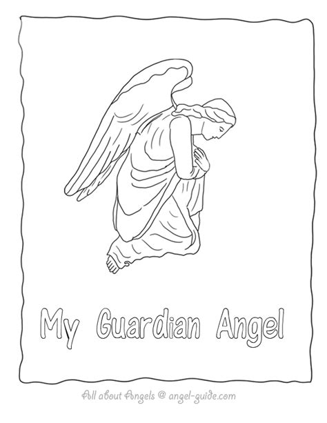 guardian angels coloring page saint gabriel coloring pages archangel coloring page