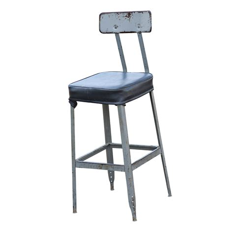 Bar Stools Industrial by Vintage Industrial Age Bar Stool Task Chair Ebay