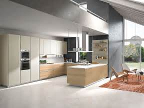 Contemporary Kitchen Contemporary Italian Kitchen Offers Functional Storage Solutions