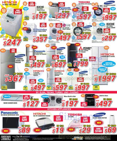 Microwave Kuche washer fridge oven sandwich maker iron hitachi kuche panasonic toshiba lg samsung
