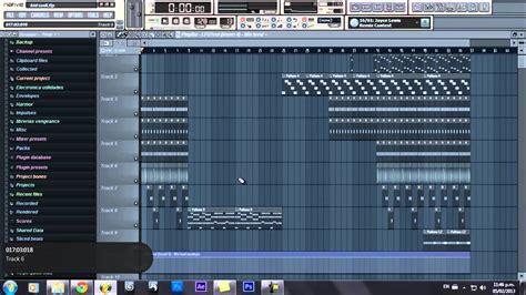 tutorial fl studio remix fl studio tutorial play list kid cudi pursuit of happiness