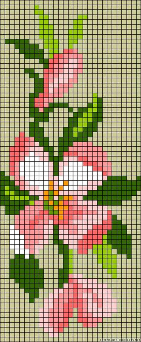 flower bead loom patterns 25 best ideas about pixel pattern on hama
