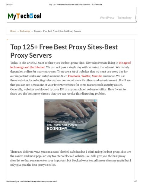 the best proxy top 125 free best proxy best proxy servers