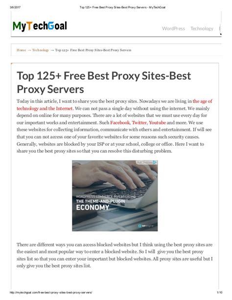 best proxy top 125 free best proxy best proxy servers