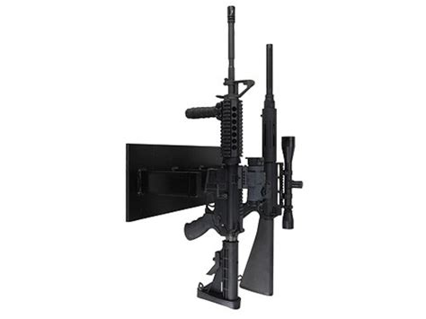 Ar 15 Gun Rack by Plastix Plus Ar 15 4 Gun Vertical Wall Mount Plastic Mpn