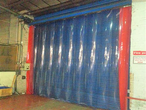 dust control curtains dust control pvc strip curtains worcester doors