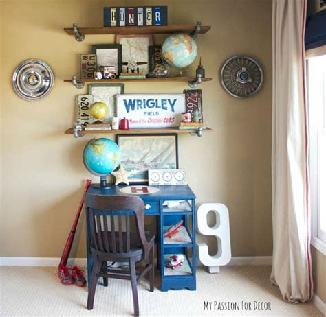 hometalk how to decorate a boy s room on a budget