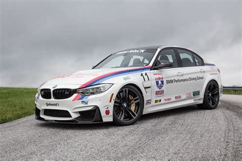 the bmw performance driving school is taking on one of
