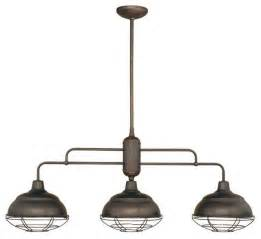 Kitchen Island Lighting by Millennium Lighting Neo Industrial Island Light Beach