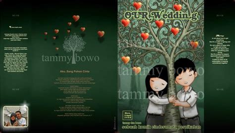 Souvenir Plakat Buku Unnes wedding comic souvenir by bewekecil on deviantart