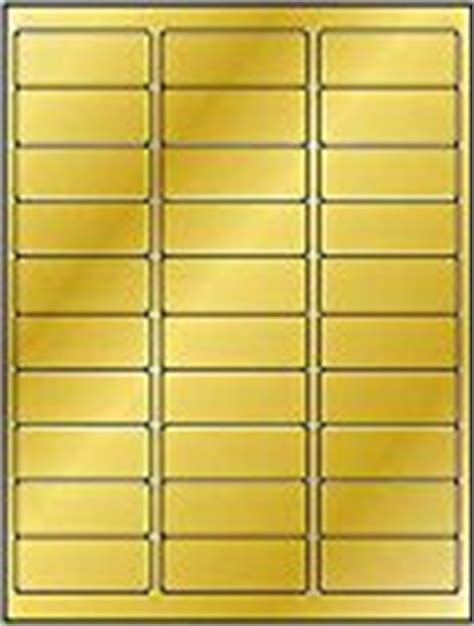 600 label outfitters 174 metallic gold foil laser only