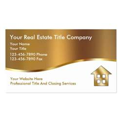 title for business card title company business cards zazzle