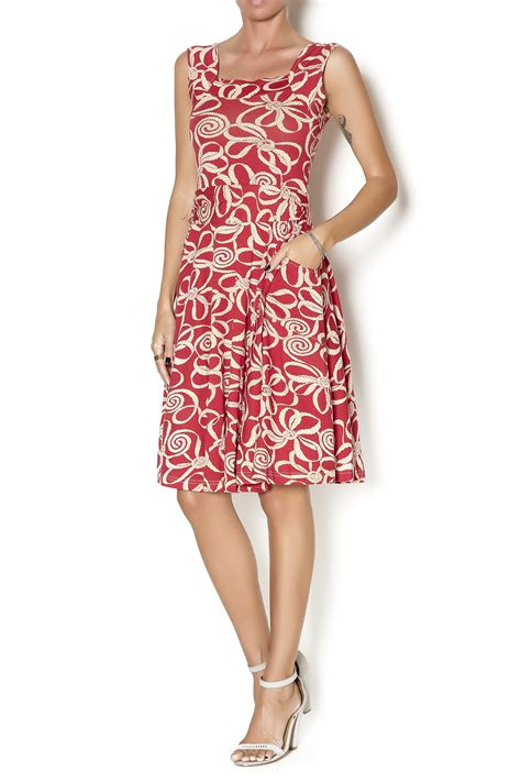 Dress Vita Merah 1 effie s dolce vita dress from new jersey by locust whimsy shoptiques