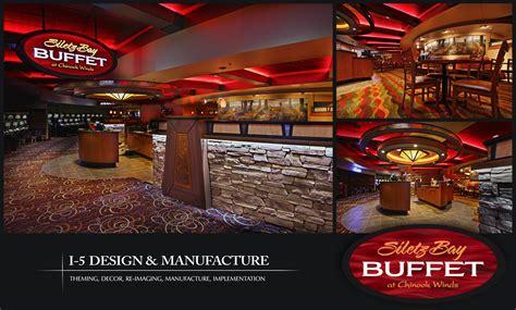 siletz bay buffet at the chinook winds casino i 5 design