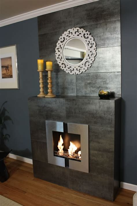 Jazz Fireplace modern jazz 2 wall mounted indoor ethanol burning bio