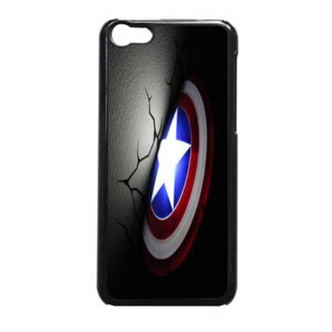 17 Captain America Iphone 5c Transparancasingclearunik Captain America Shield Marvel Iphone 5c From Iphone Shop