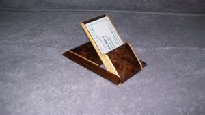 fancy business card holders fancy walnut and maple business card holder by dynamiteboxes