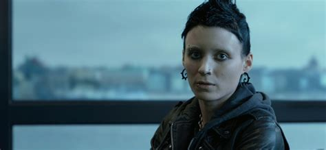the girl with the dragon tattoo cast the with the 2011 review