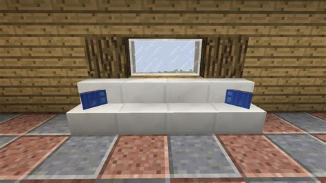 how to make couch in minecraft detail couch cushions minecraft