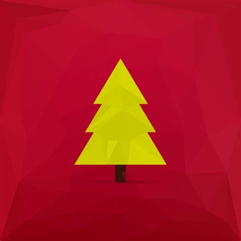 simple christmas tree free vector in adobe illustrator ai