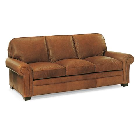 hancock leather sofa hancock and moore 9844 city sofa discount furniture at