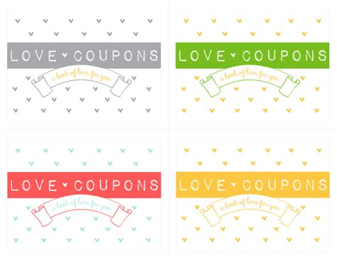 printable love coupon book cover make your own love coupon notepad free download kiki