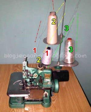 Looper Mesin Obras fitinline 6 langkah mengoperasikan mesin obras