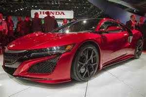 Acura Auto Show 2016 Acura Nsx Detroit Auto Show Autotrader