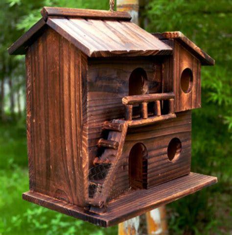 new 25 25 16 cm wood preservative outdoor birds nest wood