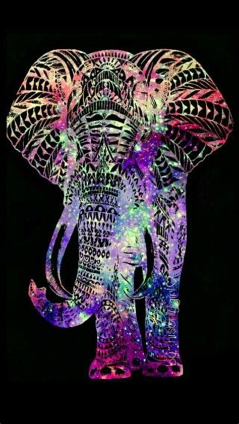 rainbow hipster elephant cute wallpapers cocoppa