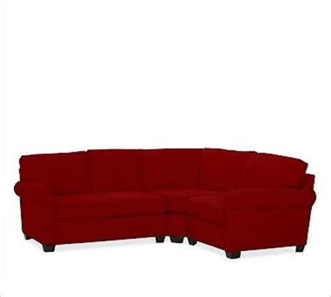 small 3 piece sectional sofa buchanan left 3 piece small sectional with corner wedge