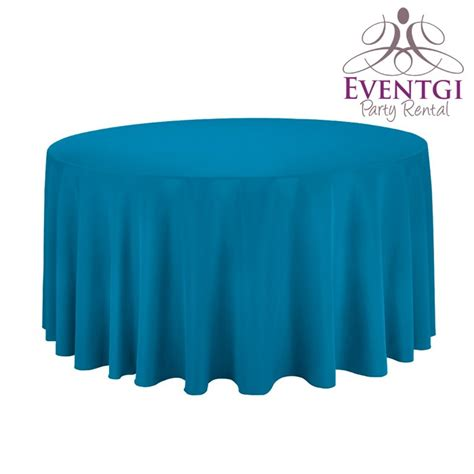 blue tablecloth for rent in miami broward county