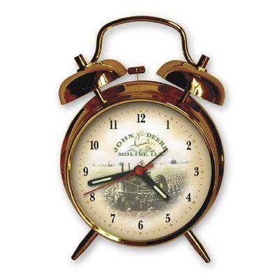 deere gold finish bell alarm clock deere alarm clocks
