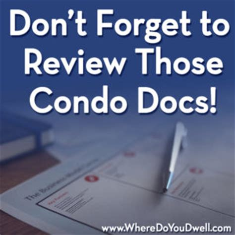 Condo Document Review