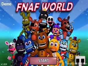 Five nights at freddy s world demo 1 24 2 para pc gratis